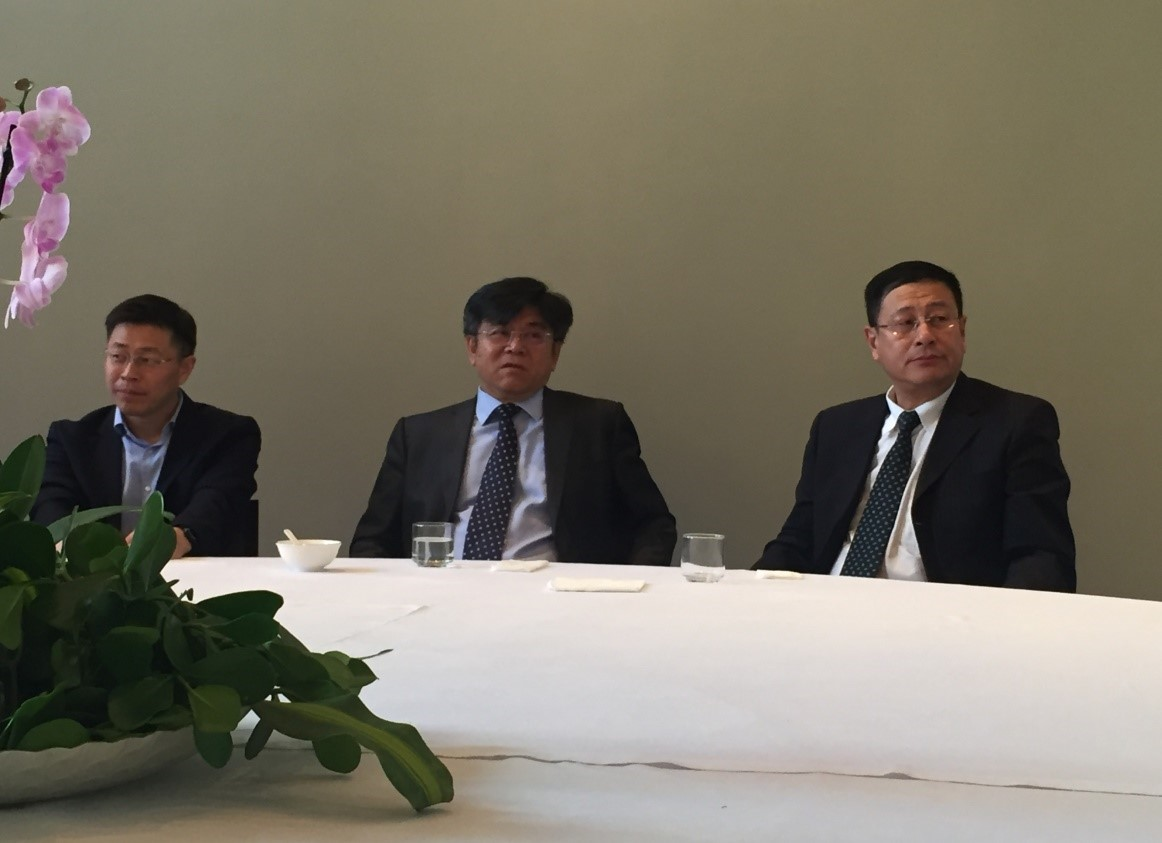 Symposia Held During Yang Yi's Visit to Chinese Embassy in Brazil.