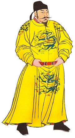 Chinese emperor clipart.