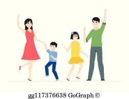 Chinese Family Clip Art.