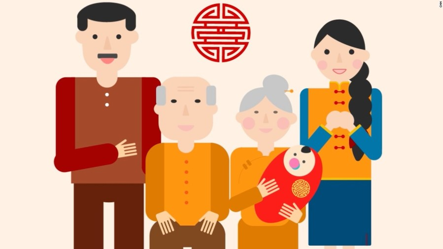 Download chinese family clipart China Chinese New Year Family.