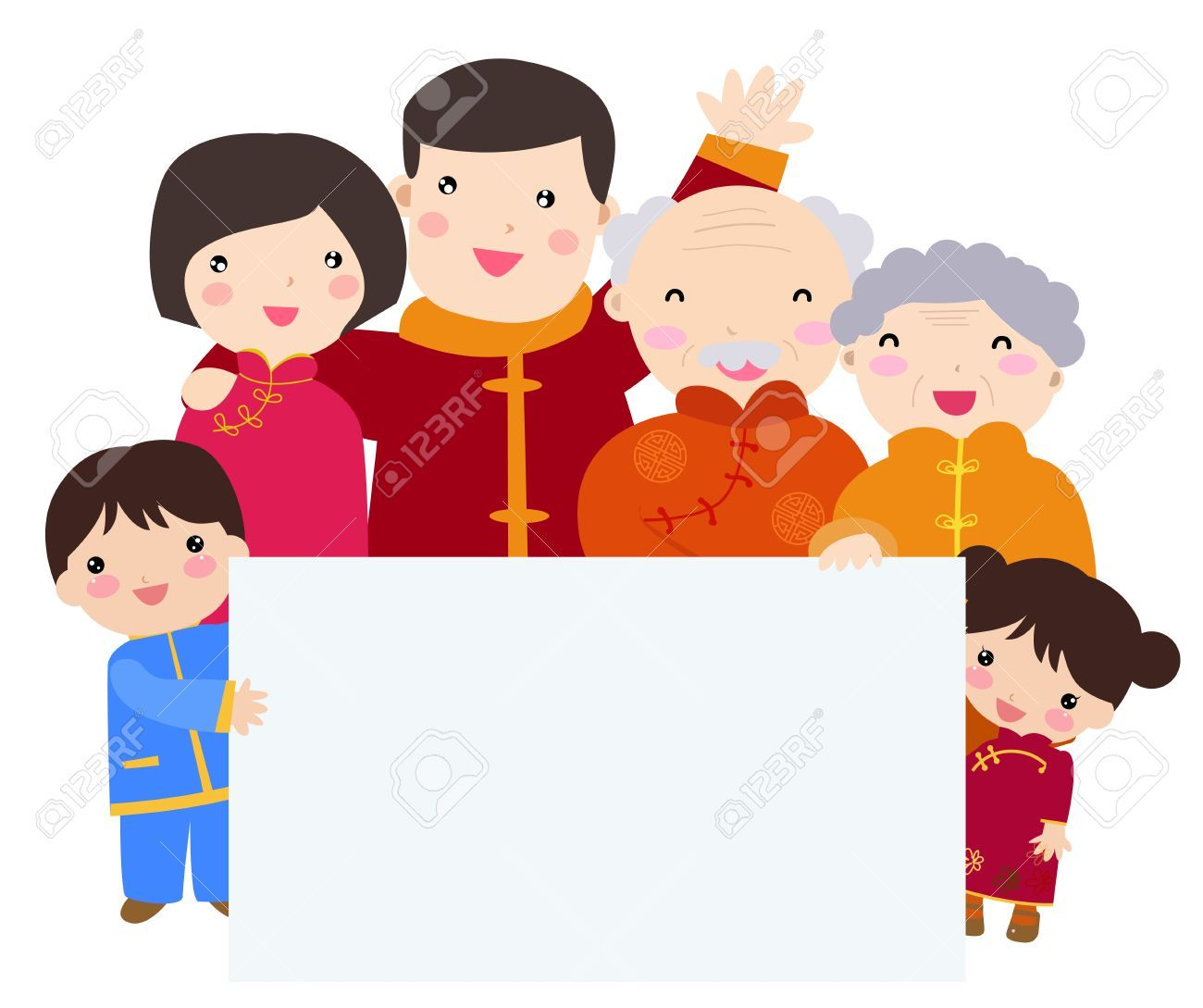 Chinese family clipart 4 » Clipart Portal.