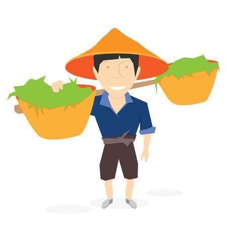 51 Chinese Work Field Stock Vector Illustration And Royalty Free.