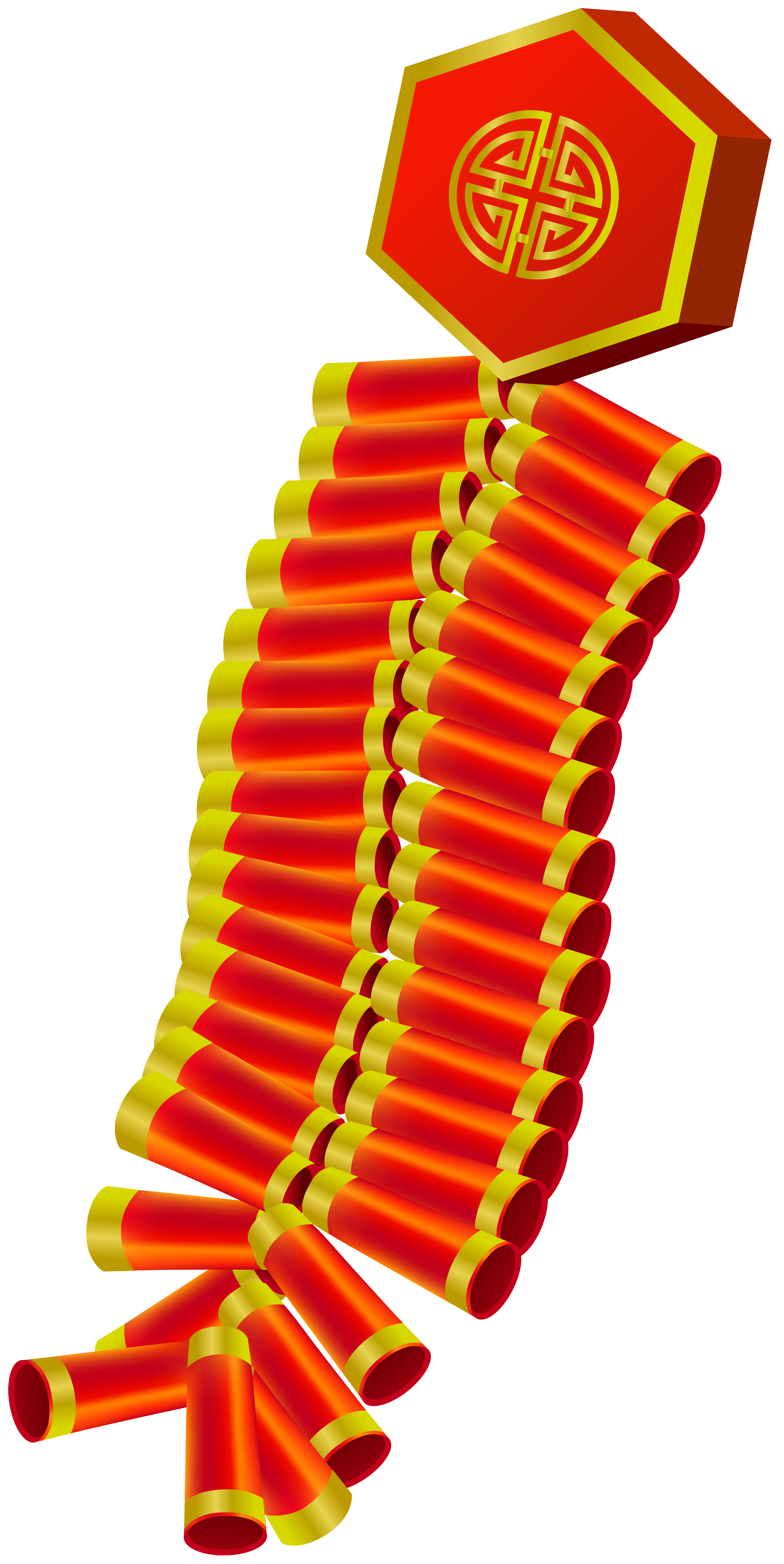 Chinese Firecrackers PNG Clip Art.
