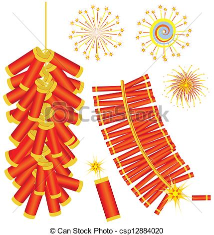 Chinese firecrackers clipart 4 » Clipart Station.