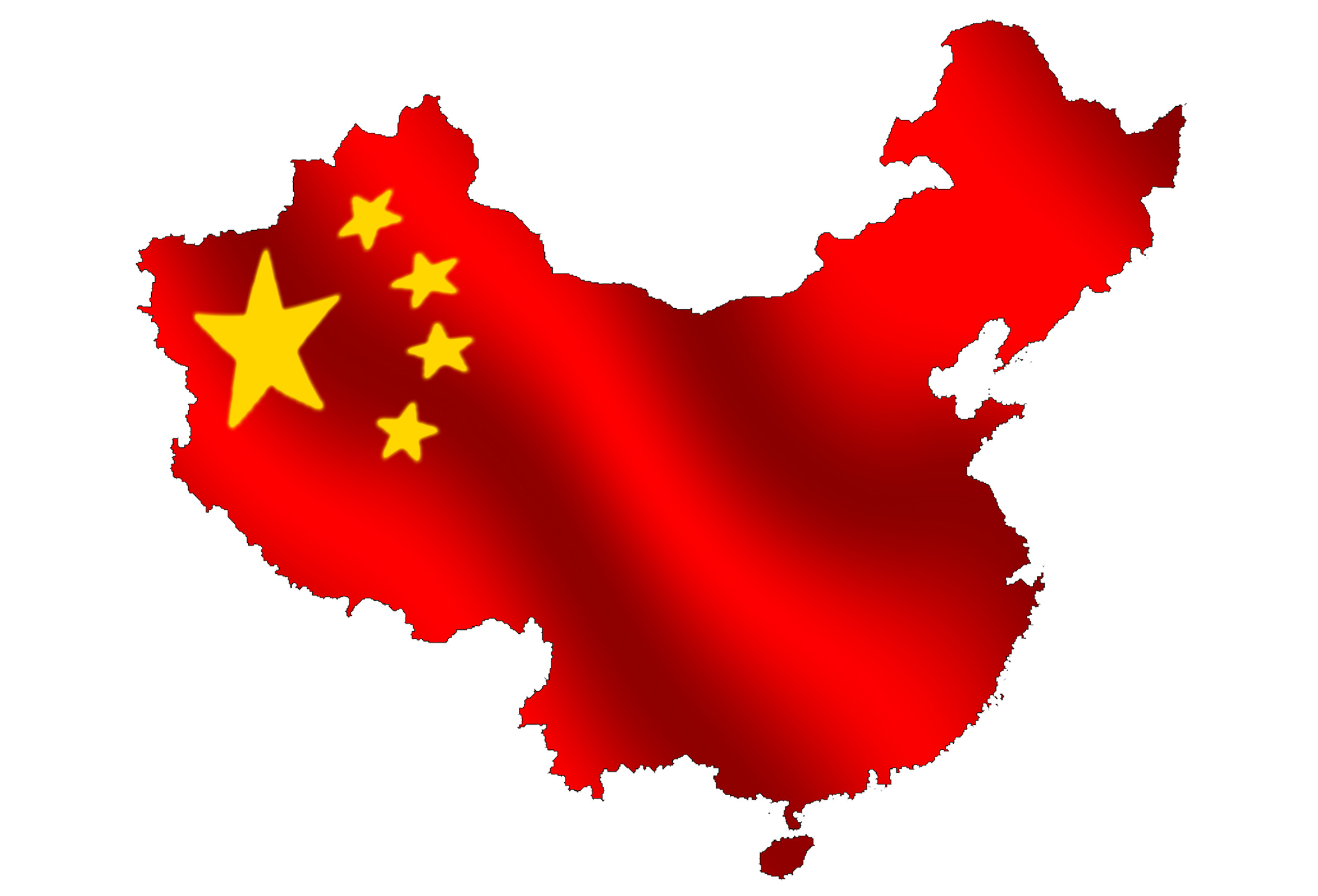 Chinese Flag Clip Art.
