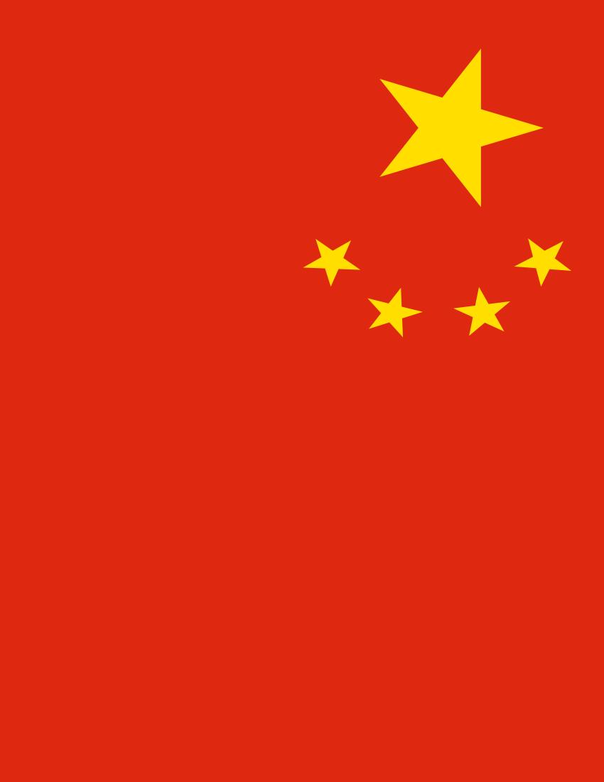 china flag full page.