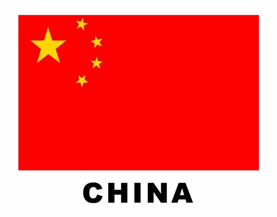 China Flag Transparent Background Png.