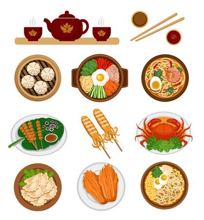 25,329 Chinese Food Stock Vector Illustration And Royalty Free.