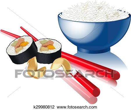 CHINESE food Clipart.