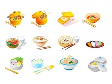 Chinese food icon vector free vector in adobe illustrator ai ai clip.