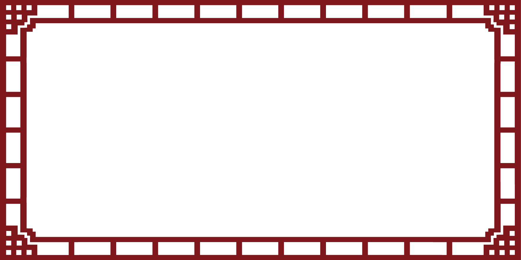 HD Chinese Wind Vector Rectangular Frame Picture.