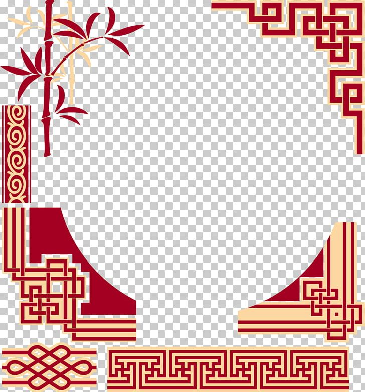 China Chinese Cuisine Frame Pattern PNG, Clipart, Area, Border.