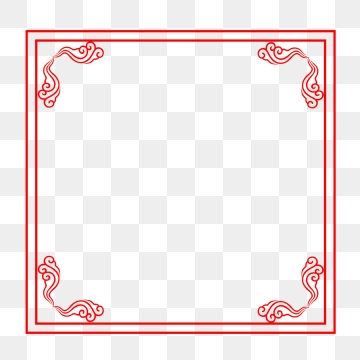 Chinese Frame PNG Images.