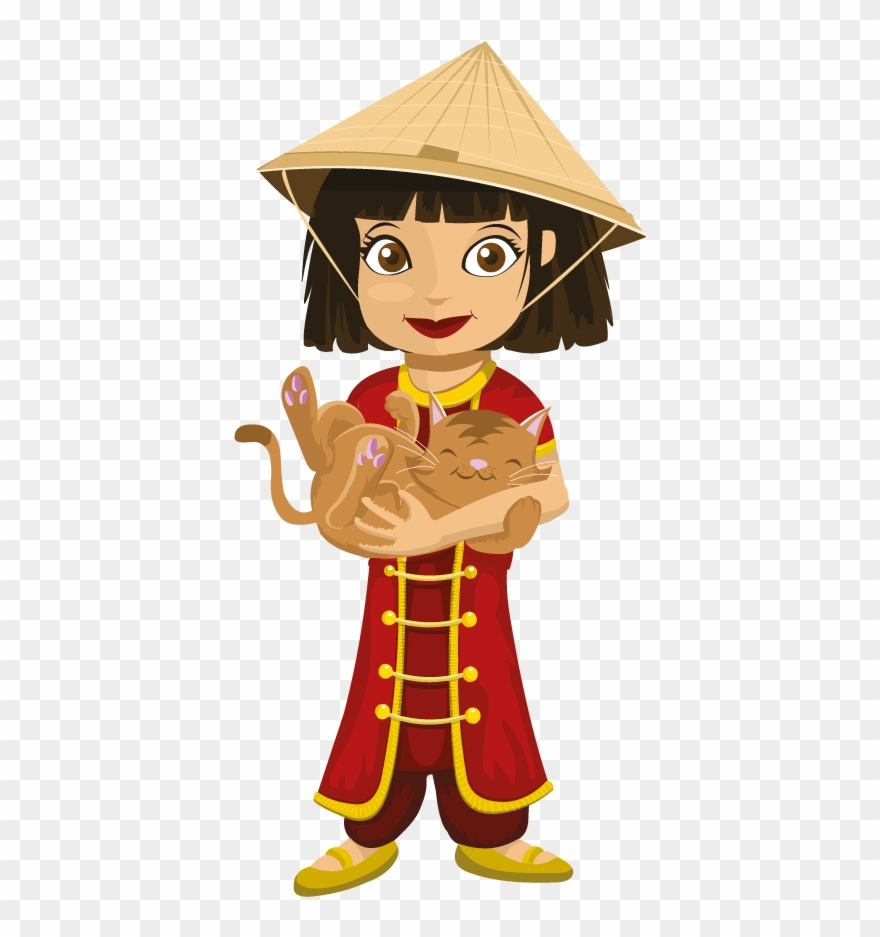 Chinese Young Girl Clipart (#2285485).
