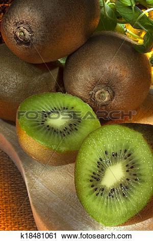 Stock Photography of Kiwifruit.