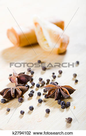 Stock Photo of chinese spices k2794102.