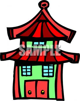 Chinese Style Building.