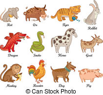 Chinese astrology Illustrations and Clipart. 5,516 Chinese.