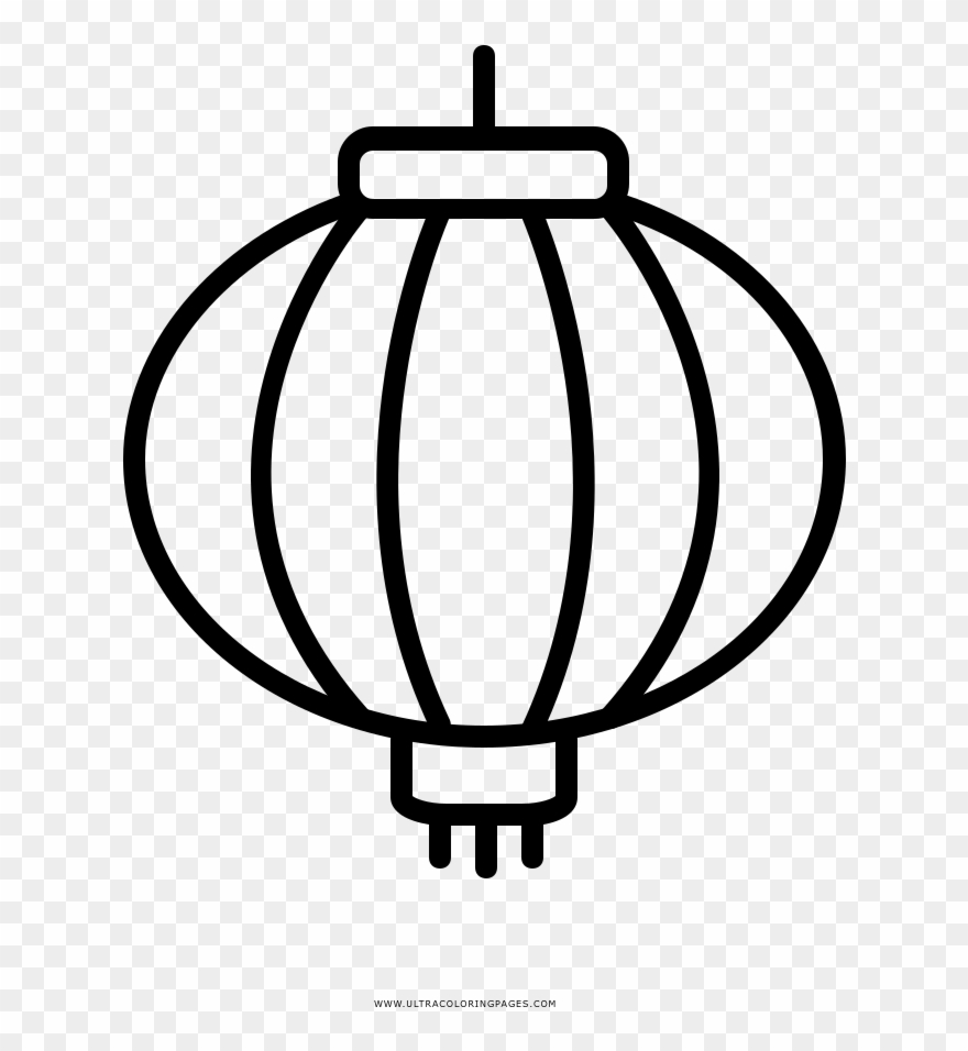 Download Chinese Lantern Page Clipart (#2906428).