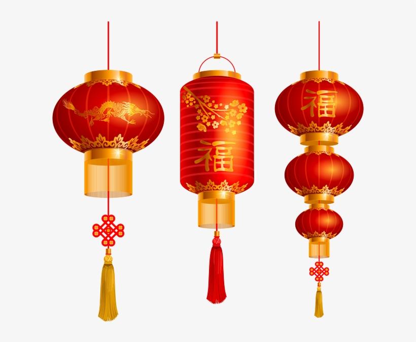 Transparent Chinese Lanterns.