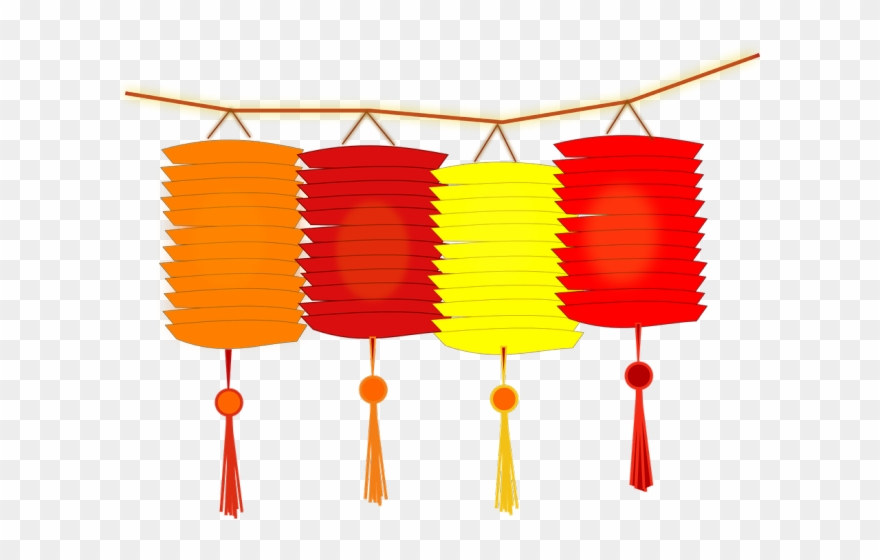 Asians Clipart Lantern.