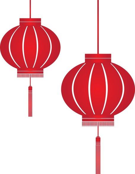 Lantern Festival Clip Art, Vector Lantern Festival.
