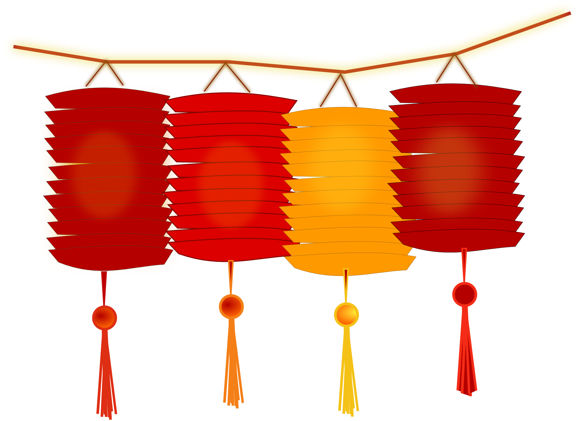 Cute chinese new year clipart clipground - Dessin lampion ...