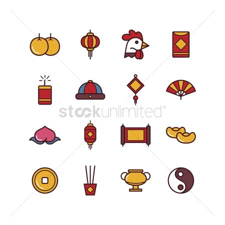 Free Mandarin Hat Stock Vectors.