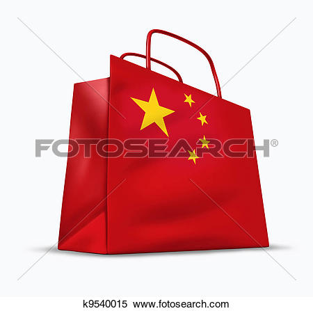 Stock Image of Chinese market k9540015.