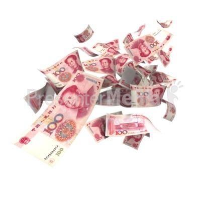 Chinese Yuan Falling.
