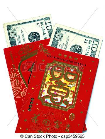 Lucky Money Clipart.