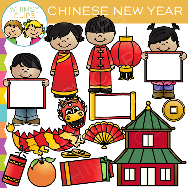 Chinese New Year Clip Art , Images & Illustrations.