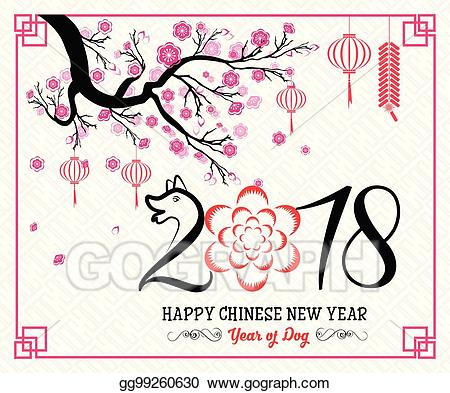 Happy Chinese New Year Clipart.