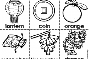 Chinese new year clipart black and white » Clipart Station.
