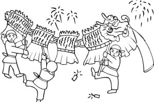 Chinese new year clipart black and white 5 » Clipart Station.