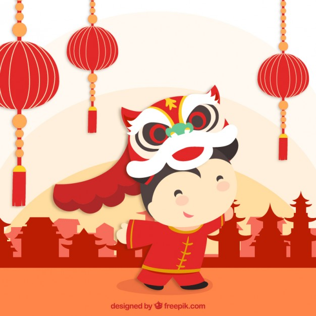 Free Chinese New Year Clipart Group with 50+ items.