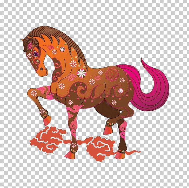 China Horse Chinese New Year PNG, Clipart, 3d Animation.