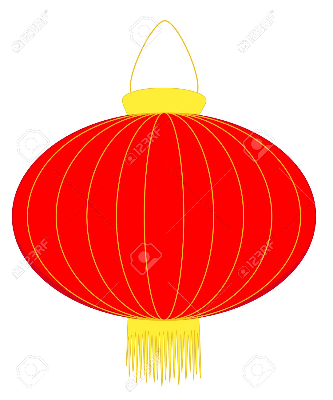 Red lantern for Chinese New Year celebrations.