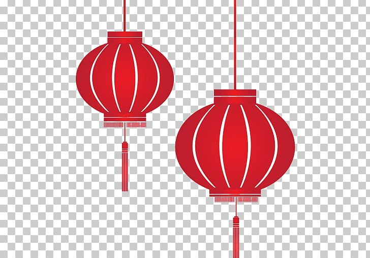 Paper Lantern Chinese New Year Lantern Festival PNG, Clipart.