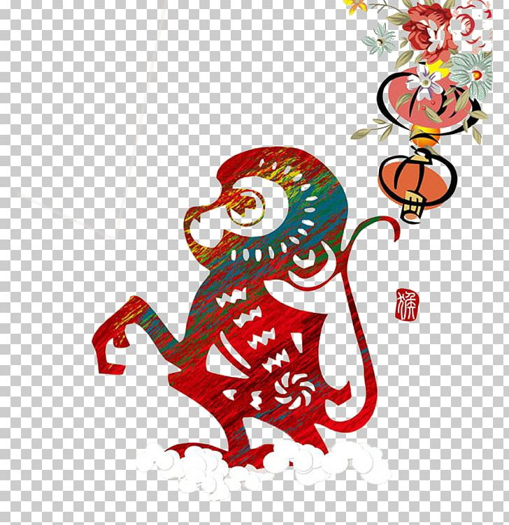 Chinatown Chinese New Year Monkey Chinese Zodiac Chinese Calendar.