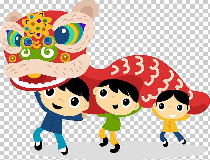 Chinese New Year Cartoon Fu, Cute Fuwa PNG clipart.