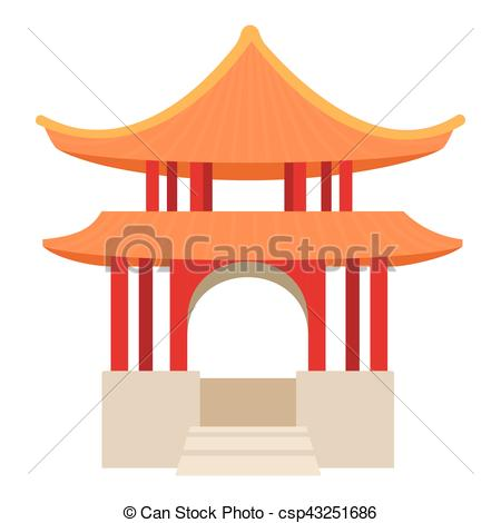 Collection of Pagoda clipart.