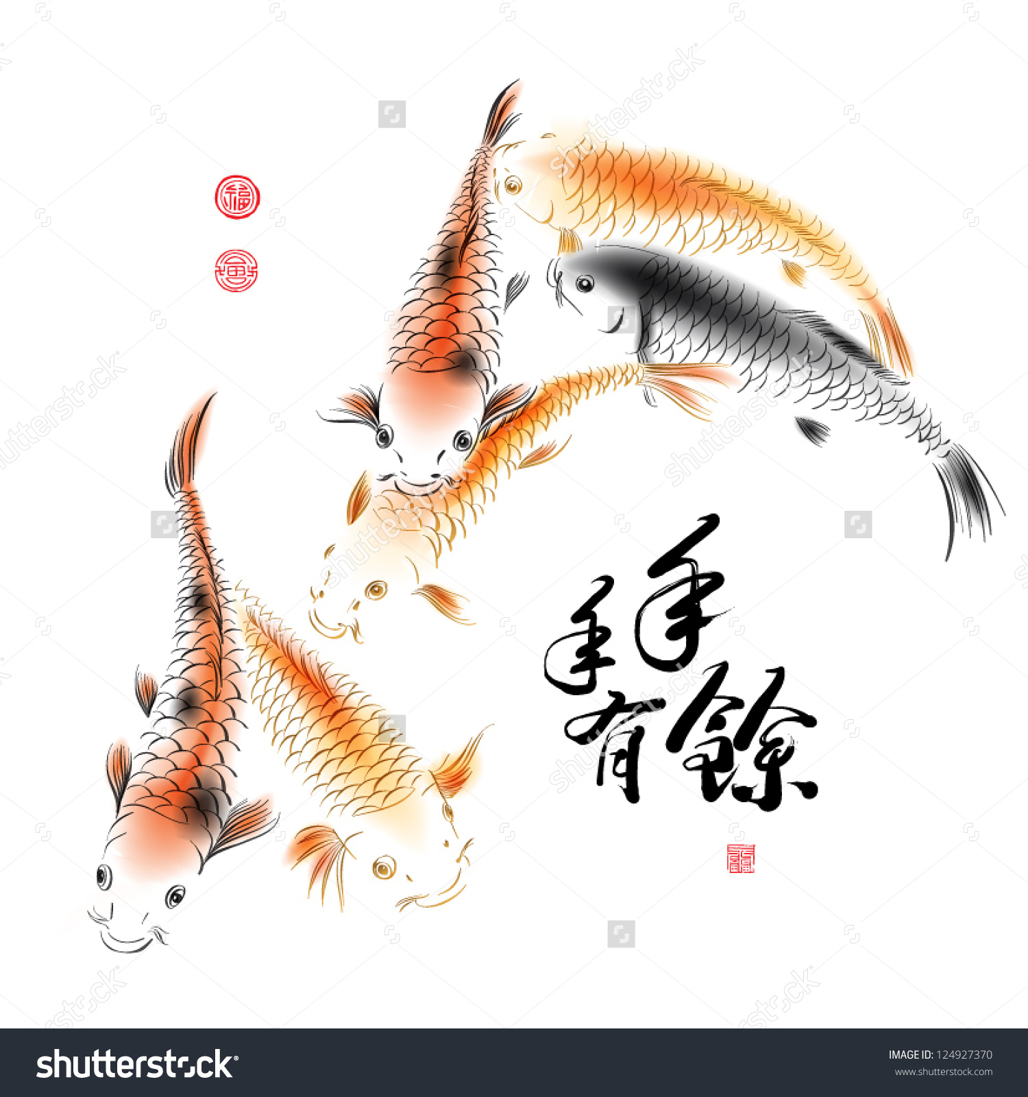 Chinese painting clipart.