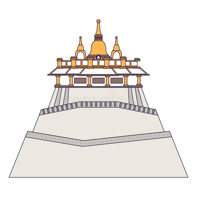 Chinese Palace Stock Illustrations.