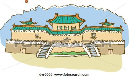 Chinese palace clipart » Clipart Portal.