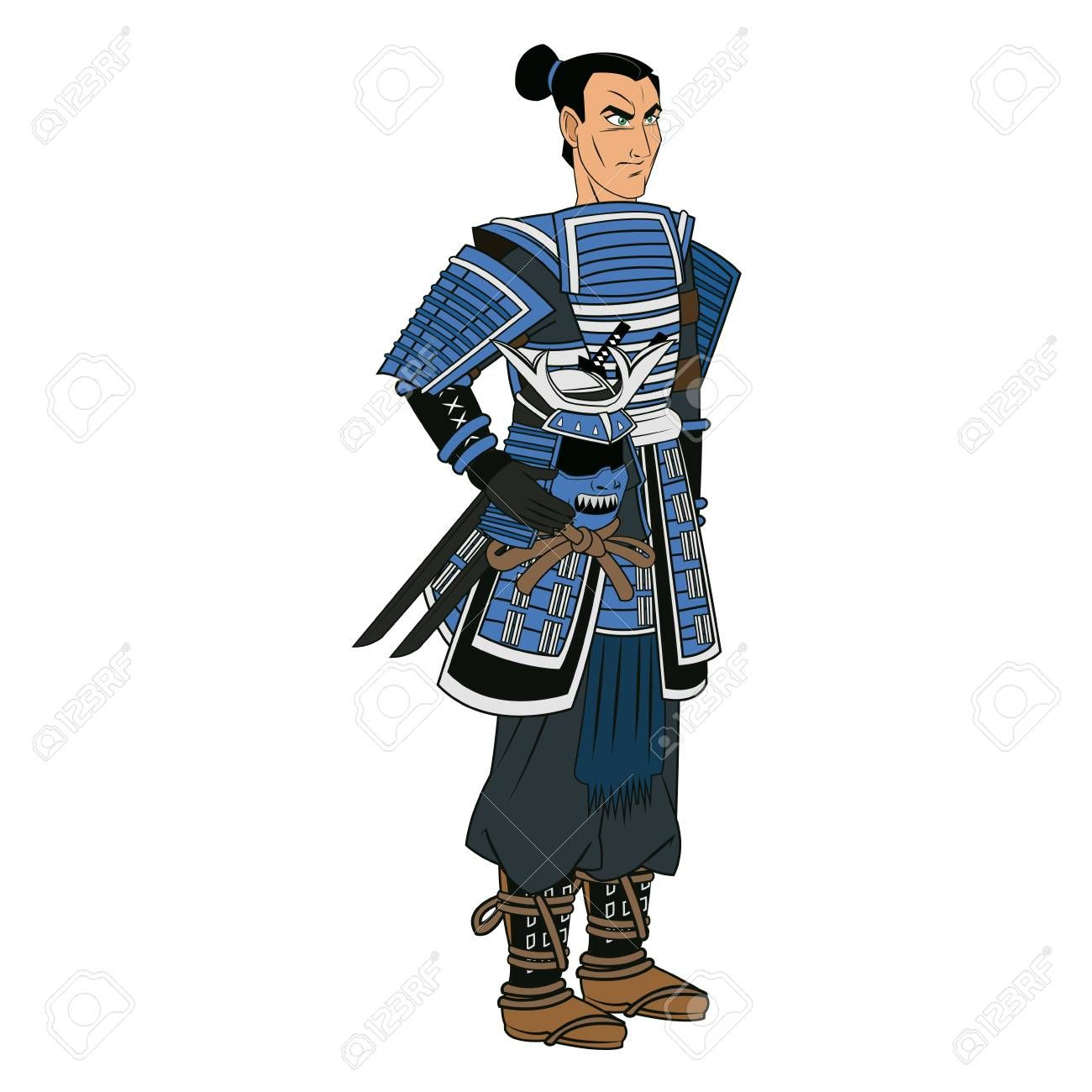 Samurai Clipart chinese soldier 1.