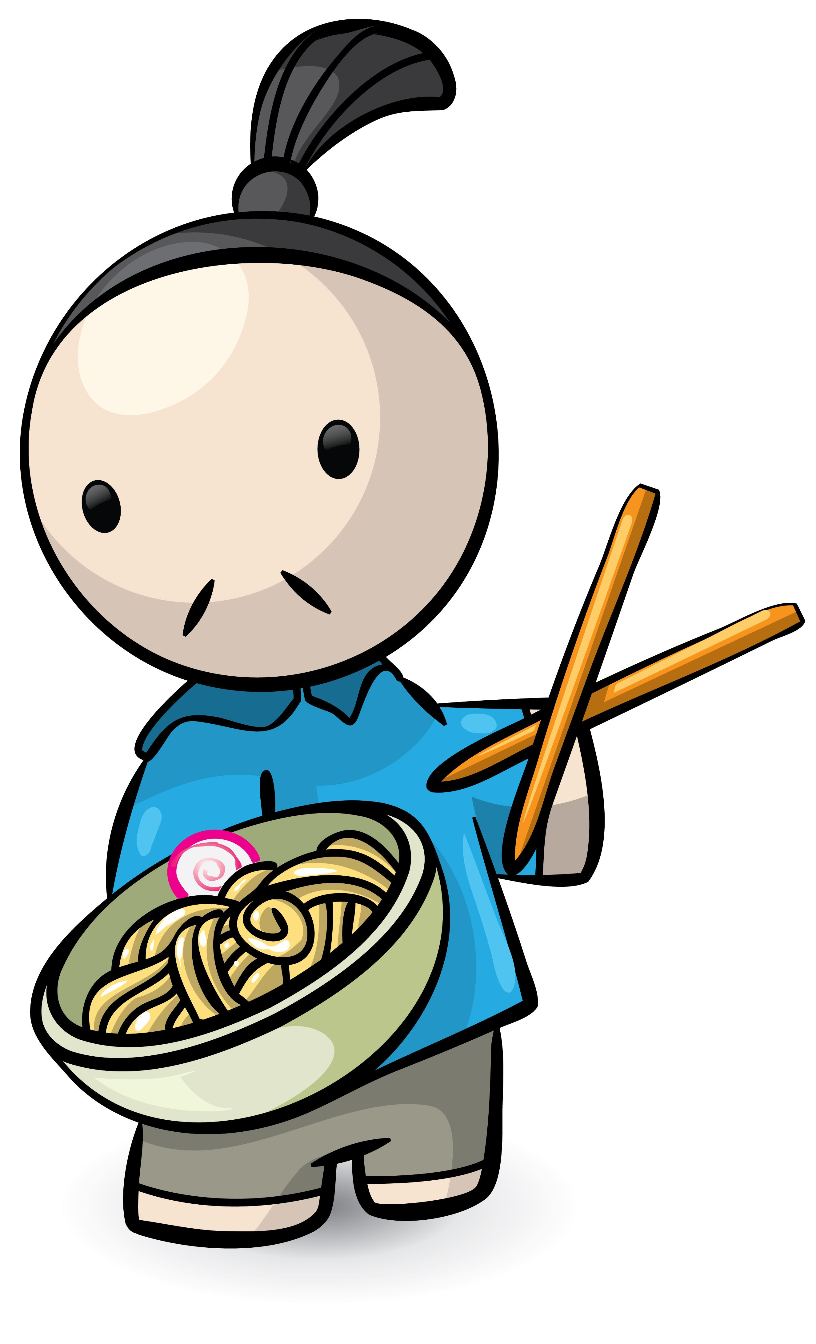 chinese person clipart.