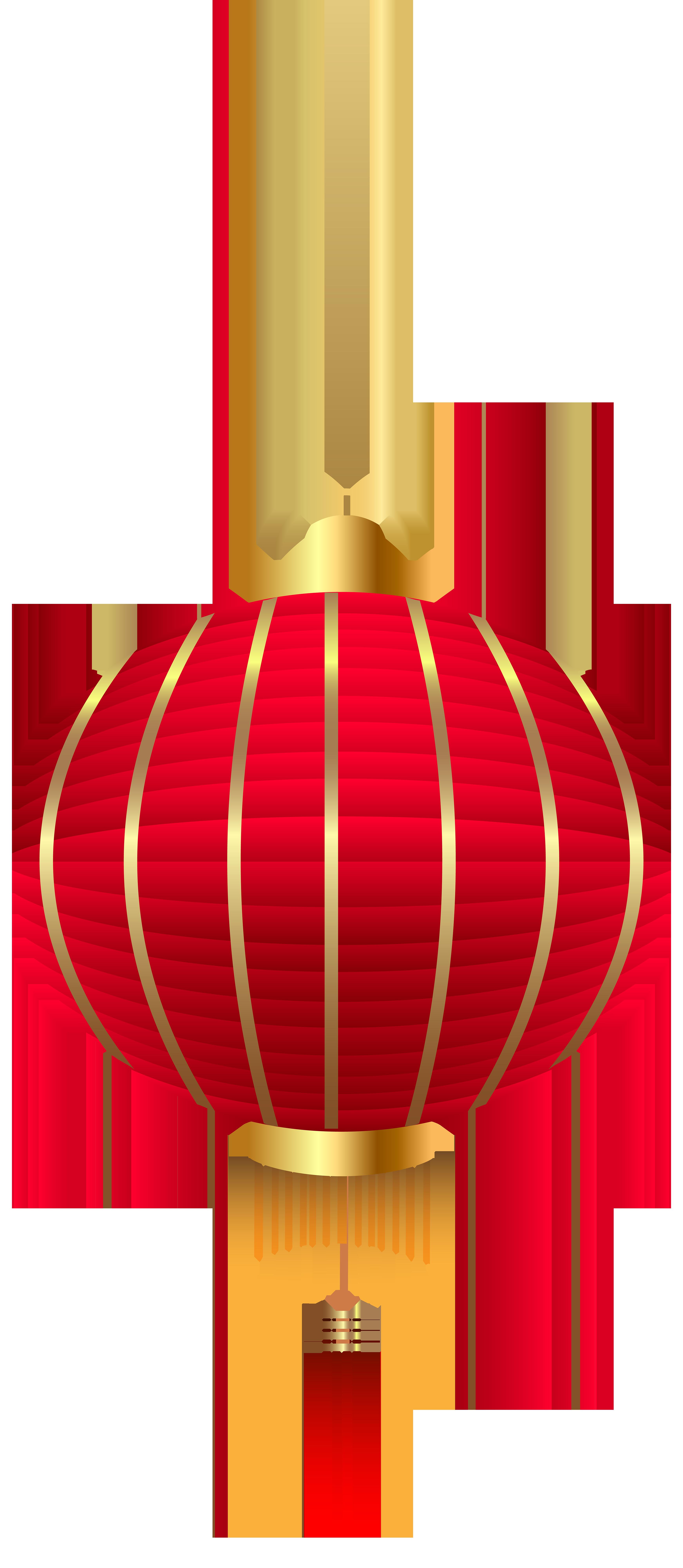 Chinese Hanging Lantern PNG Clip Art.