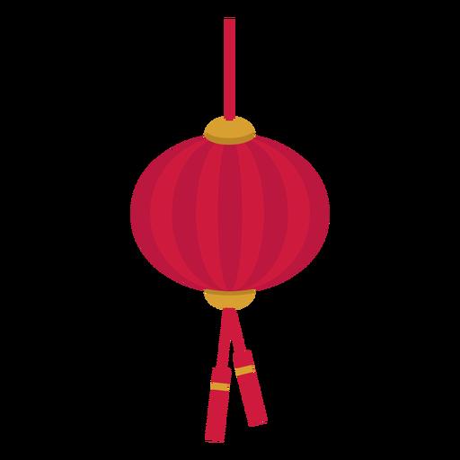 Chinese lantern flat.