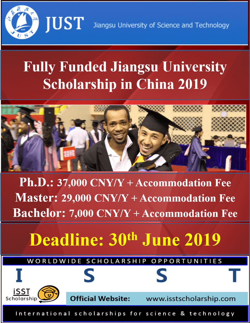 Fully Funded Jiangsu University Scholarships in China 2019 Fully.